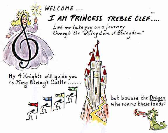 I'M PRINCESS TREBLE CLEF: Let me take you on a note reading journey.