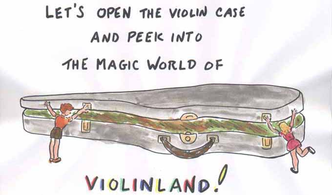 Let's peek into the Magic World of Violinland